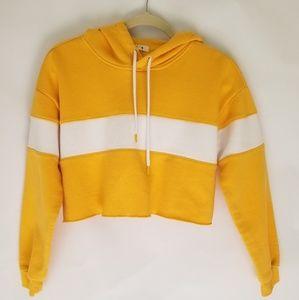 Garage cropped hoodie
